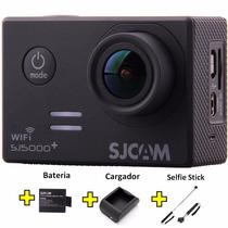 Camara Deportiva Sj5000 Plus Original Wifi+ Pila Extra 1080p