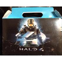 Halo 10 Cajas Para Dulces O Lonch Personalizado Gratis