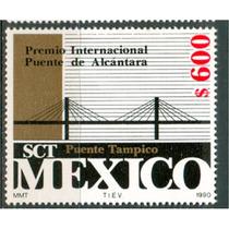 Sc 1639 Año 1990 Puente De Alcantara Premio Internacional