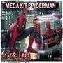 Spiderman Hombre Araña Invitaciones Kit Imprimible Jose Luis