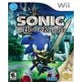 Sonic And The Black Knight Para Nintendo Wii Nuevo Y Sellado