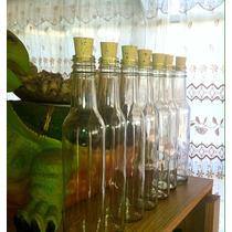 Botellas De Cristal 25x5cm