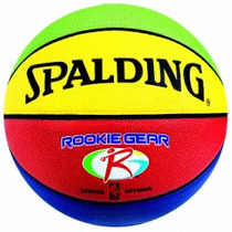 Balon De Basquetbol Spalding Rookie Gear Pu Color #5