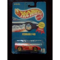 Ferrari F40 Hot Wheels 1991 Gold Medal Speed # 69 Trabucle