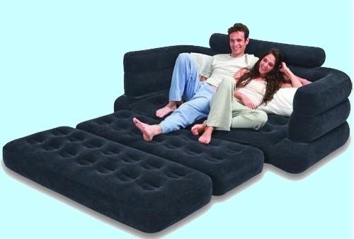 Sofa cama doble inflable en venta en quer taro quer taro for Sofa cama inflable