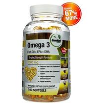 Las Píldoras De Aceite Omega 3 De Pescado * Pagar Por 60 Cáp