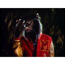 Michael Jackson Thriller Mascara, Garras + Chamarra. 80