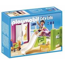 Playmobil 5579 Habitacion D Niños Ciudad Casa Lujo Retromex
