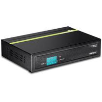 Trendnet, Switch Poe De 5 Puertos 10/100 Mbps, Tpe-s50