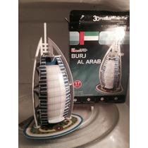 Rompecabeza Hotel De Dubai Burj Al Arab En 3d ¡ya Armado!