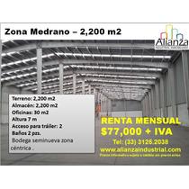 Bodega Industrial En Analco, Zona Medrano