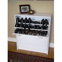 Elegante Gabinete Doble Organizador De Zapatos 4d Concepts