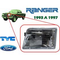 93-97 Ford Ranger Faro Delantero Lado Izquierdo Marca Tyc