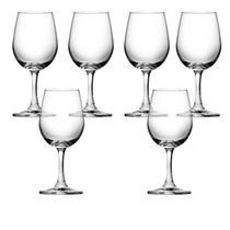 Juego 6 Copas Cristal Fino Vino Blanco Prinz