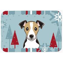 Vacaciones De Invierno De Jack Russell Terrier De La Cocina