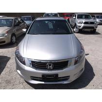 Honda Accord 2008 Exl 6 Cilindros Piel Impecable