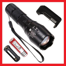 Lampara Tactica De 2600 Lumens Cree Led Xlm-t6 Recargable