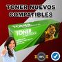 Toner Compatibles Hp Ce285a Cb435a Cb436a 85a Envio Gratis