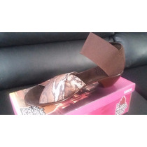 Zapato Sandalia Para Dama San Miguel Shoes Beige *:*