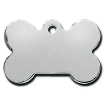 Placa Mascota Aluminio Sublimable Blanco A Dos Caras 100pzas