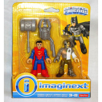 Juguetibox: Imaginext Superman Y Metallo Dc Superfriends