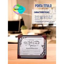 Carpetas Porta Titulo Para Graduaciones,tamaño Carta.