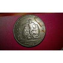 Moneda 200 Pesos Mundial 1986