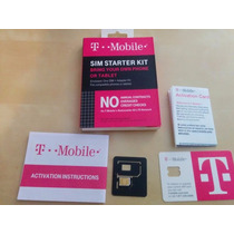 Nano T-mobile 3 In 1 Sim Starter Kit Envio Gratis Estafeta