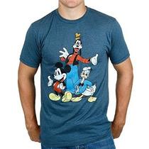 Disney Tres Grandes Trío Mickey Mouse Pato Donald Goofy Cami