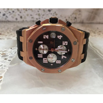 Reloj Audemars Piguet En Acero Y Gaucho