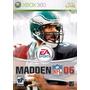 Madden Nfl 06 Xbox 360
