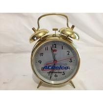 Hermoso Reloj Despertador Vintage Promocion Acdelco Mecánico