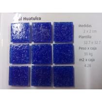 Mosaico Veneciano Para Alberca Azul Huatulco / Cobalto 2 X 2
