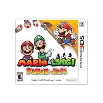 °° Mario & Luigi Paper Jam Para 3ds °° En Bnkshop