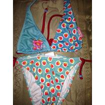 Bikini Marca Rosita Fresita Talla6años