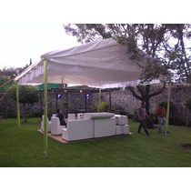 Jc Alquiler Renta Carpa Roof Garden Sillas Lounge Periqueras