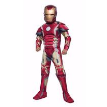 Disfraz Iron Man Niño Super Heroe Avengers