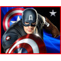 Kit Imprimible Capitan America Candy Bar Golosinas Tarjetas