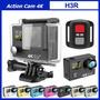 Camara Action Cam H3 4k Ultra Hd Con Control Remoto