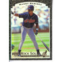 1996 Upper Deck Rock Solid Foundation Manny Ramirez Indians