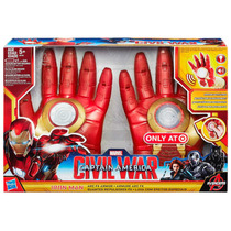 2-pack Iron Man..casco Electronico Y Guantes Repulsores Fx