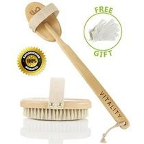 Cepillo Mejor Cuerpo Seco Para La Vitalidad Y La Piel Hermos
