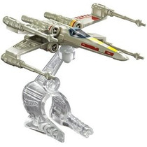 Hot Wheels Star Wars Starship X-wing De Combate Red 5