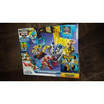 Transformers Recuebots Estación De Bumblebee Playskool Heroe