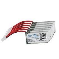 6 Piezas De 3.7v 380mah 25c Keenstone Lipo Batería Para Hubs