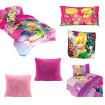 Paquete Campanita Individual Edredón,sábanas,almohada,cojin