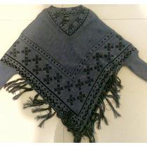 Ponchos Mexicanos, Con Mangas Sweater, Abrigo, Colores, Lana