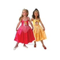 Dormir Vestuario Belleza - Chicas Medio 5-6 Años Reversible