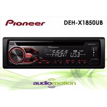 Autoestereo Pioneer Deh-x1850ub Usb Mixtrax Smartphone