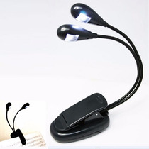 Lampara Led Doble Brazo Con Clip, Para Atril Partitura